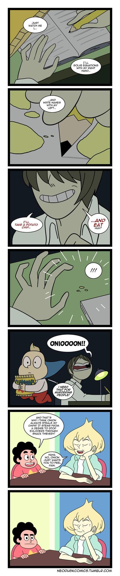 Steven Universe: Onion Note by Neodusk