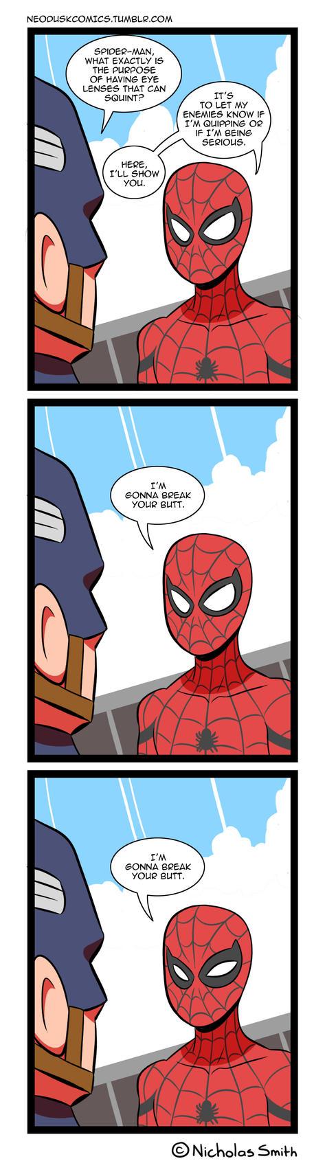 Fandumb #106: Spider-Logical Warfare by Neodusk
