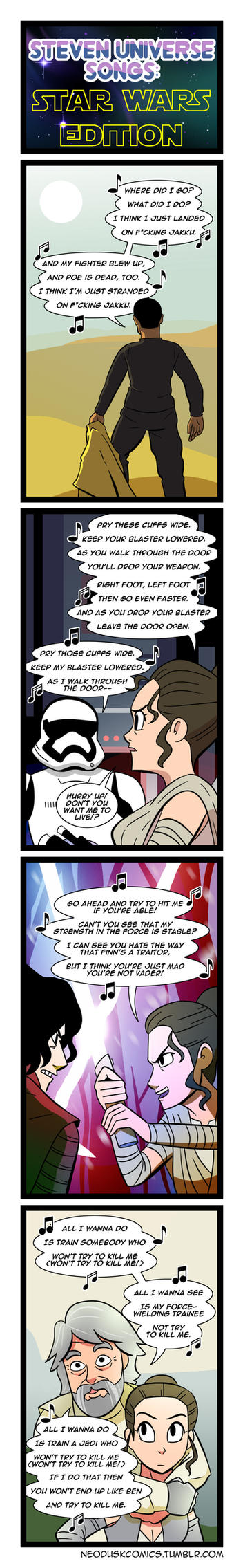 Star Wars x Steven Universe Medley by Neodusk