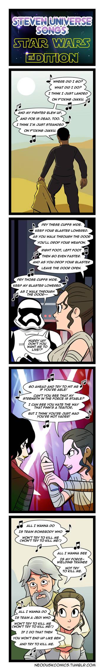 Star Wars x Steven Universe Medley