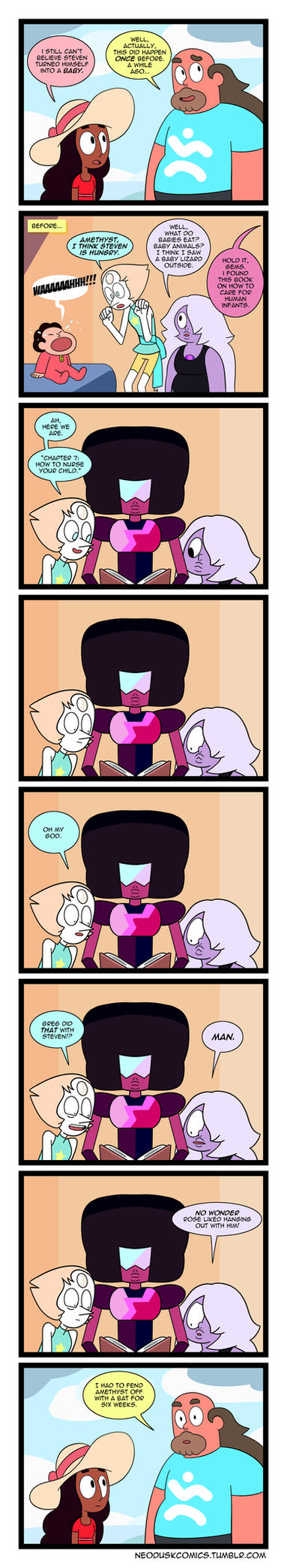 SU: The Gems Can't Babysit by Neodusk