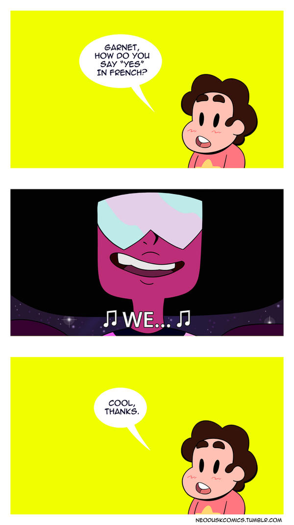 Learning French with Garnet