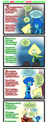 Lapis and Peridot Save Christmas by Neodusk