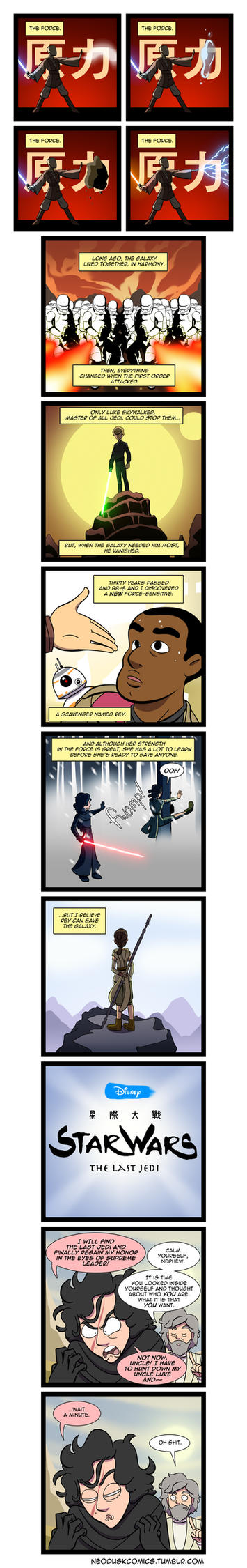 Avatar: The Last Jedi by Neodusk