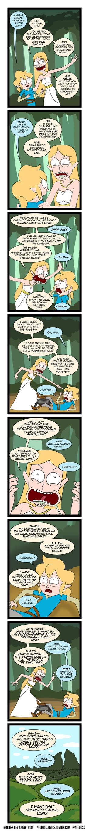 Link and Zelda Season 3 Episode 1