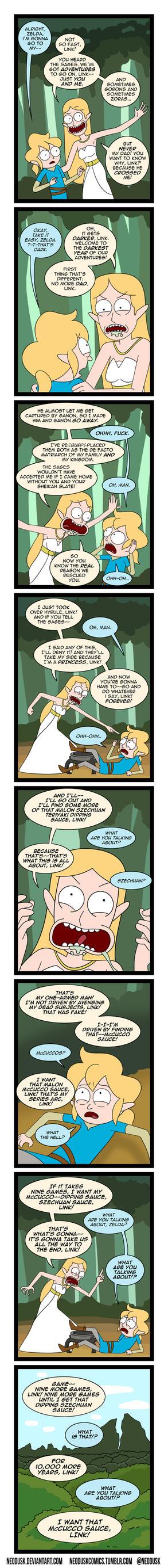 Link and Zelda Season 3 Episode 1 by Neodusk