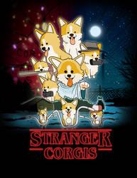 Stranger Corgis by Neodusk