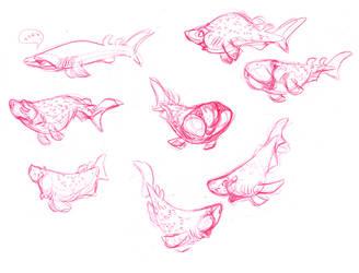Bramble Shark by indigofox