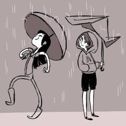 Umbrella Envy by indigofox