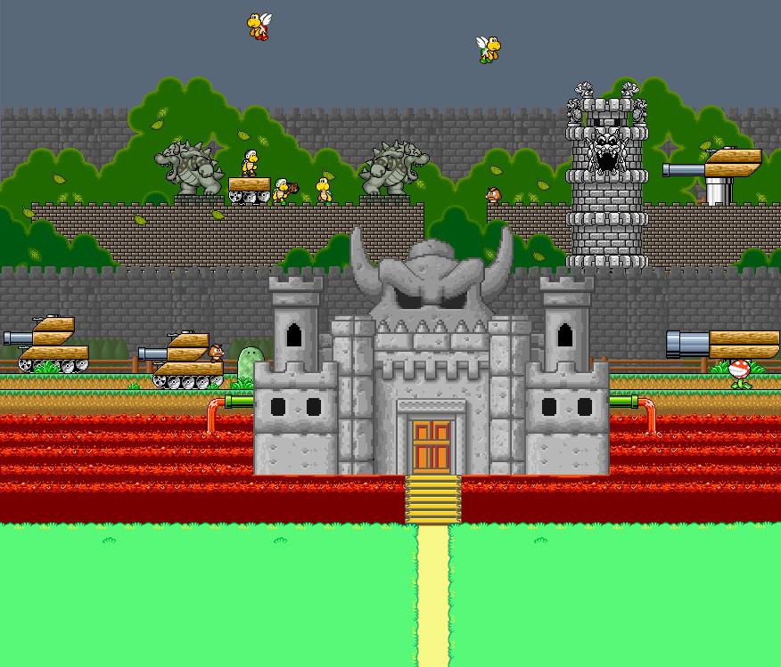 Bowser'S Castle Adult 81