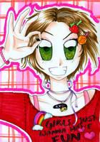 Rainbow gal :D by nanako87