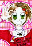 Rainbow gal :D