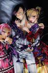 Vampire Orgy by nanako87
