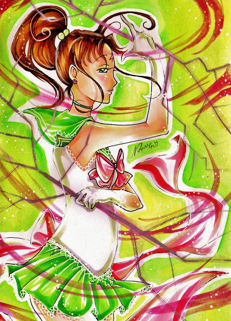 Thunder Dance: Sailor Jupiter by nanako87