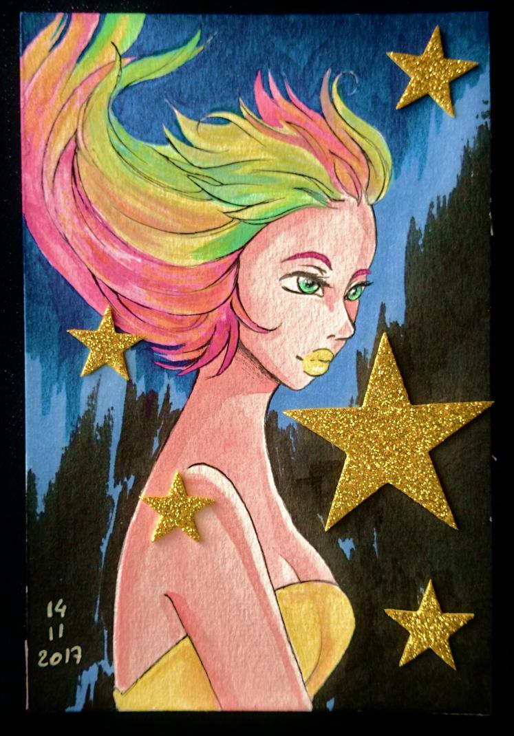 Starry girl by nanako87