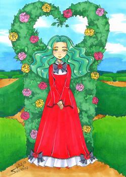 Michiru In A Garden