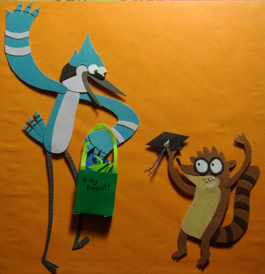 Regular Show ''Birthdation'' by Confettibird