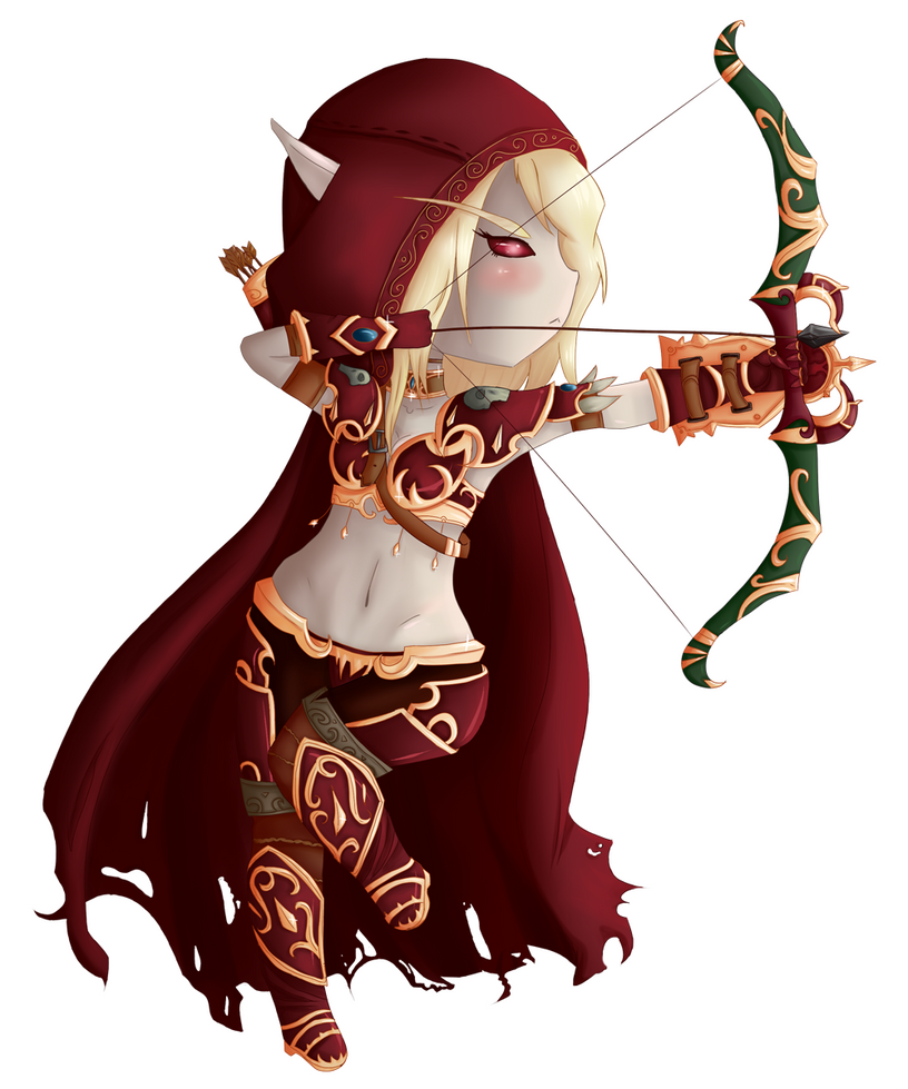Warcraft 3 Anime Characters : World of warcraft sylvanas chibi by gumimonster on