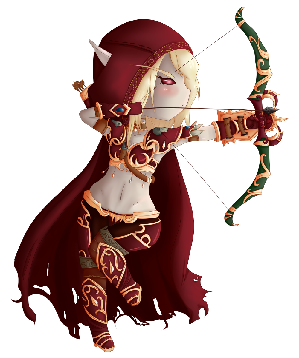 Scan Manga Warcraft: Sylvanas Chibi By GumiMonster On