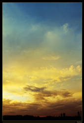 Multicolored sky by StephArt09