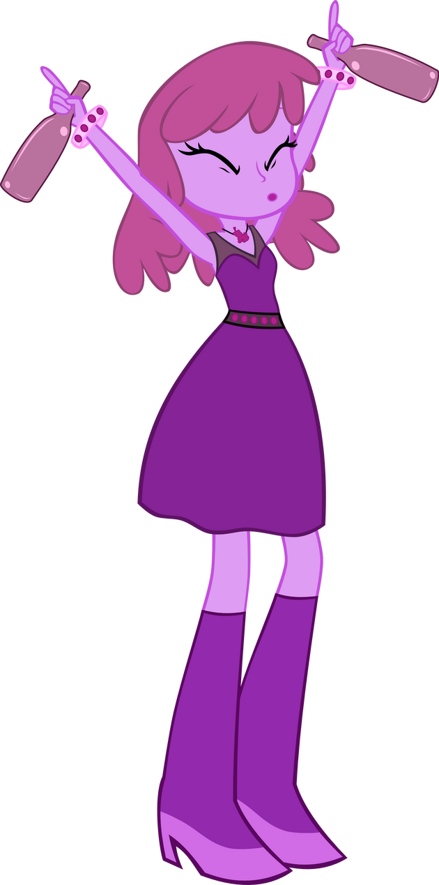 Equestria Girls Style Berry Punch by Jerick