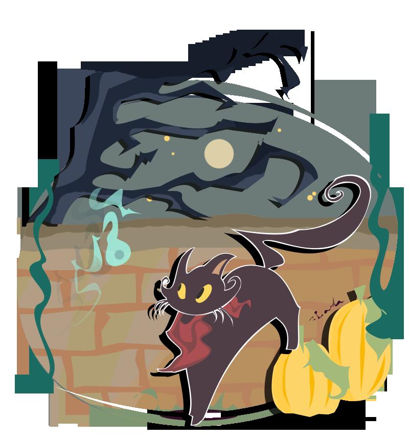 Halloween Tricks by LaytonLegalLuke