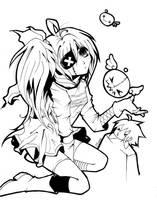 Random Lineart by clyne-corpse