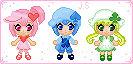 Ran, Miki, Suu Pixel