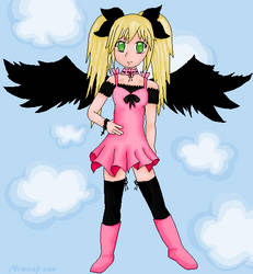 Pixel angel