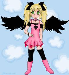 Pixel angel by Nimsaj-san