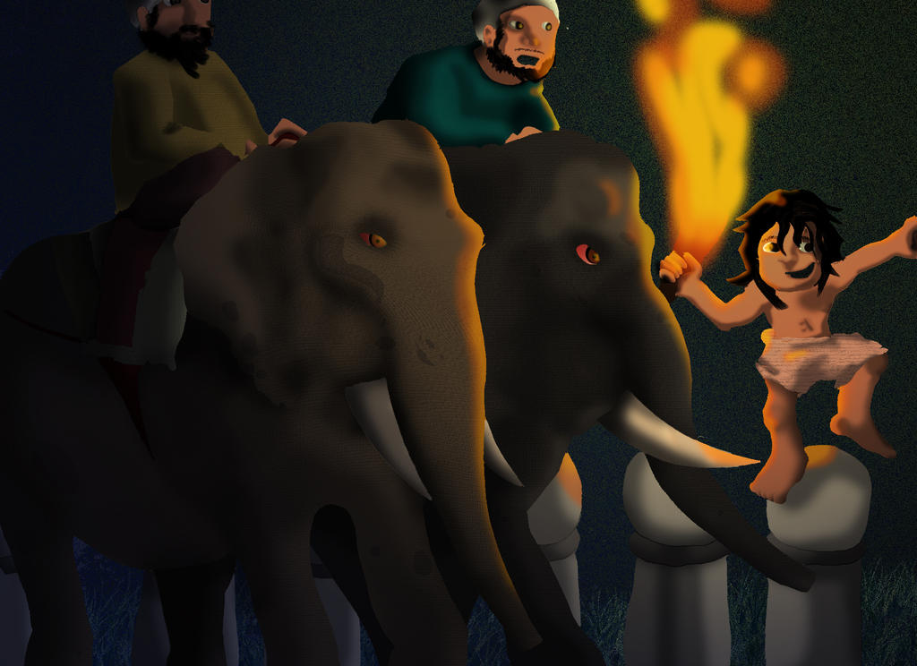 Jungle Book: Toomai of the Elephants by Manic-Pest