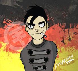 Bill Kaulitz - Gorillaz Version by DysfunctionalHuman