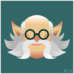 Paladins - Torvald Vector Icon