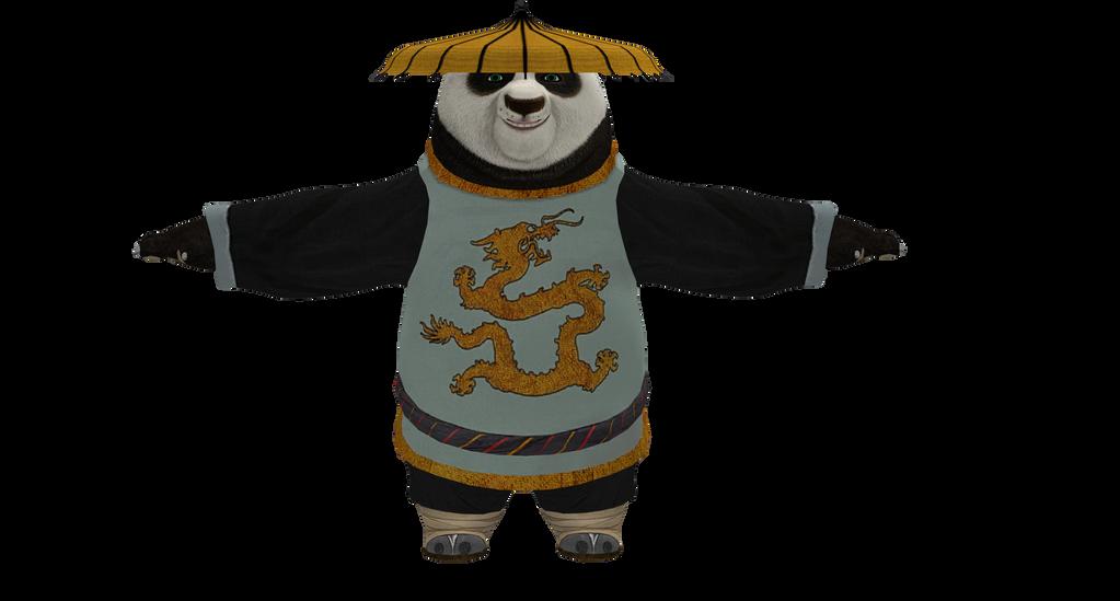 Po - Kung Fu Panda by papkapapka on deviantART