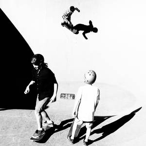 Three Skateboarders