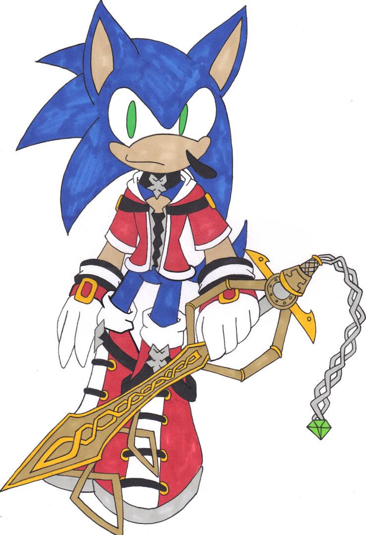 Keyblade Wielder Keyblade Wielder Sonic  by