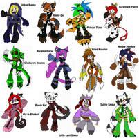 .:Zodiac Fighters:. by TeaLadyC8LIN