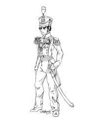 Captain Benjamin Shedfield by Shakoriel
