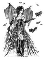 Bat Goddess by Shakoriel