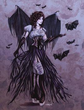 Bat Goddess in Colour
