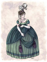 Viscountess Garvestone in Colour by Shakoriel
