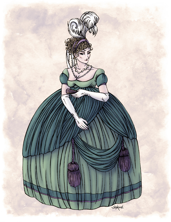 Viscountess Garvestone in Colour