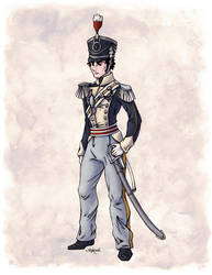 Captain Benjamin Shedfield in Colour by Shakoriel