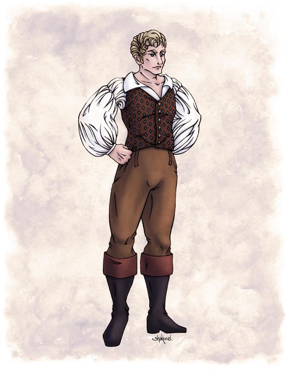 Lord Sebastian Bramdale in Colour by Shakoriel