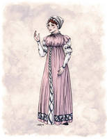 Lady Tabitha Newick in Colour by Shakoriel