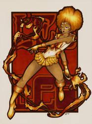 Sailor Zodiac Leo by ToddryElliott