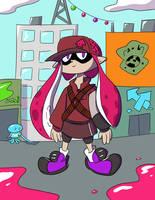 A Squid-Kid by ManiakMonkey