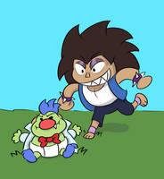 Kick the Baby! by ManiakMonkey