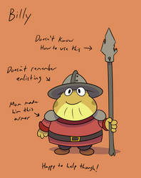 Billy the Toad Guard