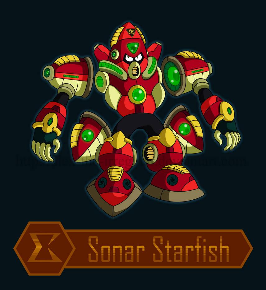 Sonar Starfish digitalized